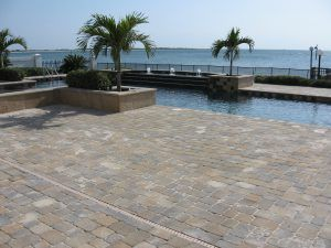Brick Paver Pool Deck